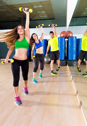 Group Personal training session