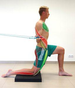 Spiral Stabilisation for Sports