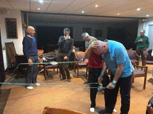 Spiral Stabilisation for Golf