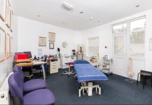 Physiotherapy Treatment Room